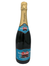 "alt=""Father's day personalised champagne bottle, perfect unique gift for all occasions, with customised wine present label"""