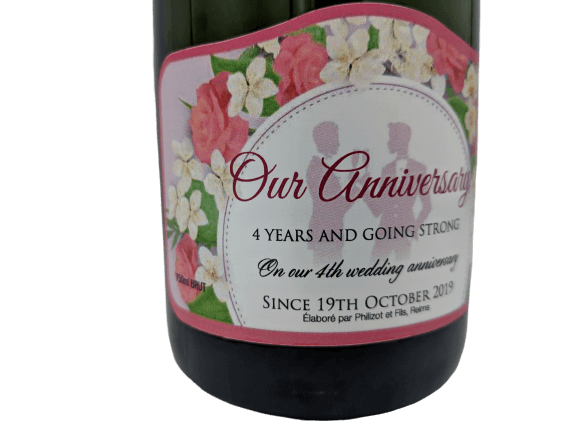 Personalised Champagne Wedding Gift UK Delivered Birthday Anniversay Proposal Graduation Hen Party Say It With Champers - Gay