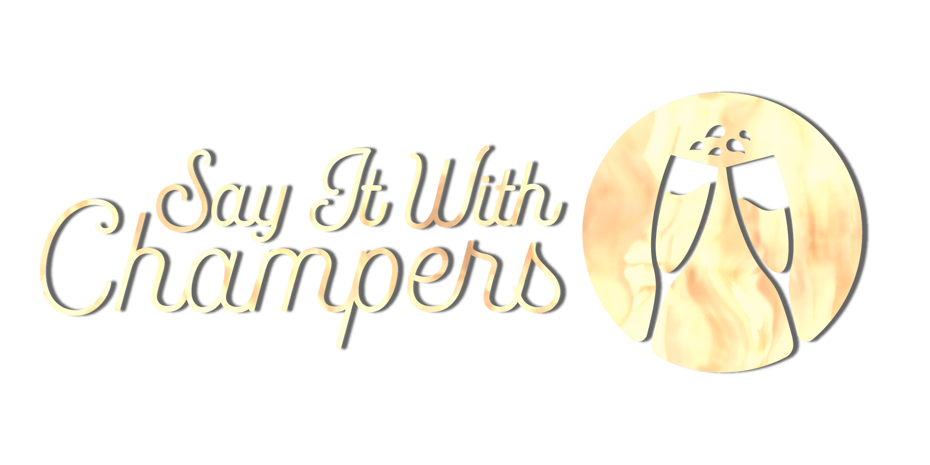 Say It With Champers Logo