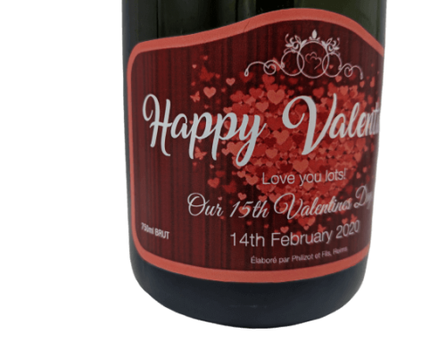 Value Personalised Champagne