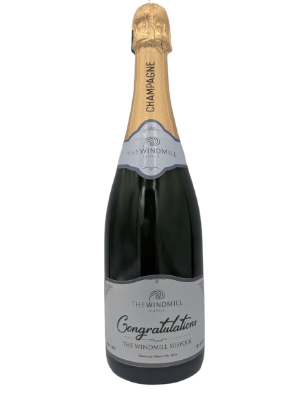 personalised Champagne customised bottle label delivery uk sparkling wine corporate gift present bespoke unique design