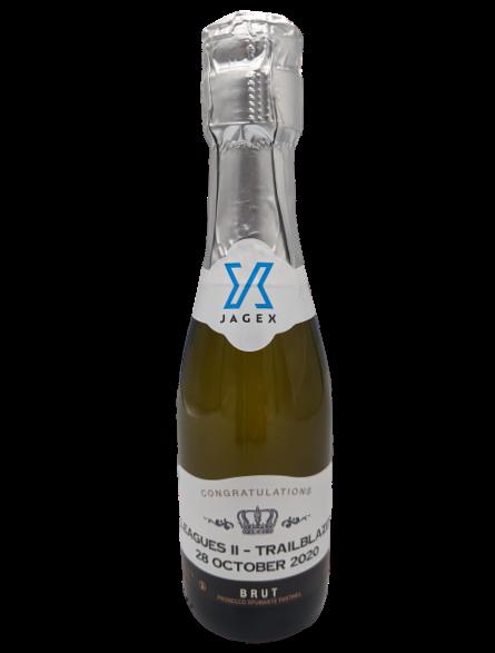 small prosecco bottles mini corporate 20cl personalised bulk miniature