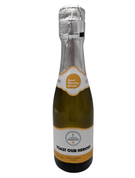 itv prosecco bottles mini corporate 20cl personalised good morning britain